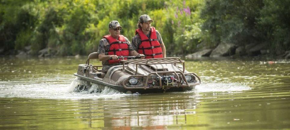 рыбалка мотовездеходы