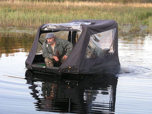 самодельный вездеход для рыбалки видео